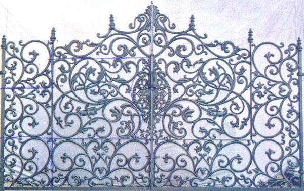 ... Gate, Cast Iron Gates, Decorative Gates, Front Entrance Gate, Main